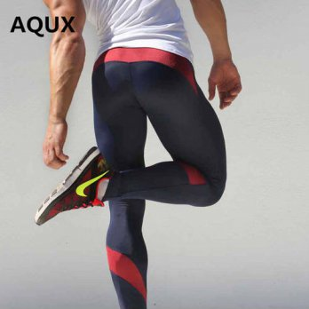[globalbuy] AQUX Brand Clothing Pants Men Sweatpants Clothing Fitness Costume Mens Trouser/4210413