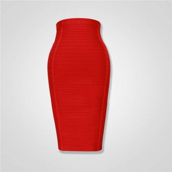 [globalbuy] New Pencil Skirts 2015 Women Autumn Fashion Knee Length Bandage Skirts Plus Si/4201774