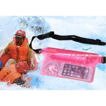Tas Pinggang Anti Air Muat HP Dompet Waterproof Waist Bag