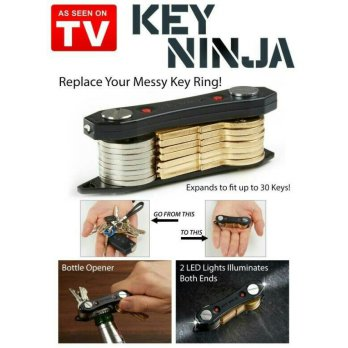 Authentic KEY NINJA Kunci / KEYSMART / SWISS ARMY STYLE KEY ORGANIZER 3 in 1