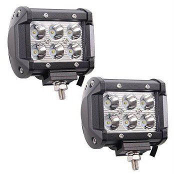 [macyskorea] Led Pods, Senlips 2x18W Cree Leds Spot Light Led Fog Lights Offroad Led Light/14124435