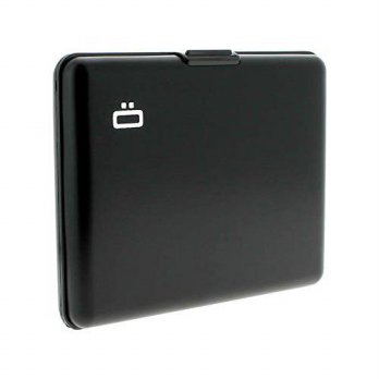 [macyskorea] Ogon Big Stockholm Aluminum RFID Blocking Wallet - Black/15264534