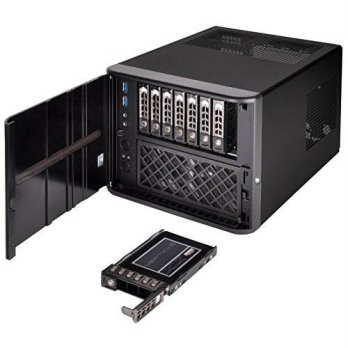 [macyskorea] SilverStone Technology Premium 8-bay 2.5 Small Form Factor NAS Chassis (CS280/16098478