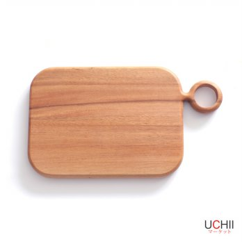 Acacia Wood Chopping Board / Serving Tray Square with Hook - Talenan