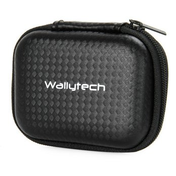 WallyTech Shock-proof Storage Bag for Xiaomi Yi & GoPro - Black