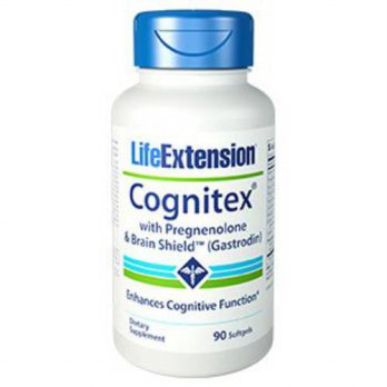 [macyskorea] Life Extension Cognitex Plus Pregnenolone with Brain Shield Softgels, 90 Coun/16125006
