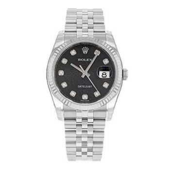 [macyskorea] Rolex Datejust 116234 BKJDJ 18K White Gold & Stainless Steel Automatic Mens W/15861903
