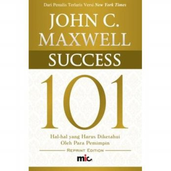 Buku Success 101. John C Maxwelll