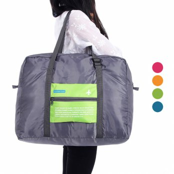 FOLDABLE TRAVEL BAG /HAND CARRY TAS LIPAT/ HAPPY FLIGHT FOLDING BAG 32 L