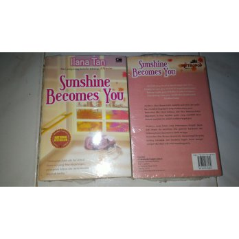 Novel metropop Ilana tan Sunshine becomes you National bestseller