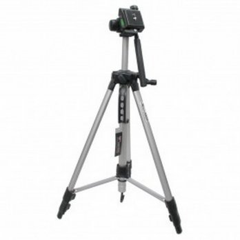 R.E.A.D.Y Weifeng Aluminium Tripod Photo & Video With 3-Way Head - W-350 - Black