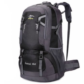 Tas Ransel Mountaineering 60L - Black