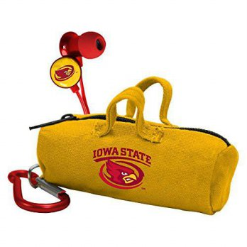 [macyskorea] AudioSpice NCAA Iowa State Cyclones Scorch Earbuds with Bud Bag/15667330