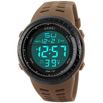 [macyskorea] PASOY Mens Military Swiming Watch Brwon Rubber Band Stopwatch Waterproof Wome/15779701