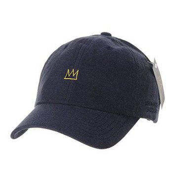 [macyskorea] WITHMOONS Baseball Cap Jean-Michel Basquiat Crown Embroidery CR1501 (Navy)/15836783