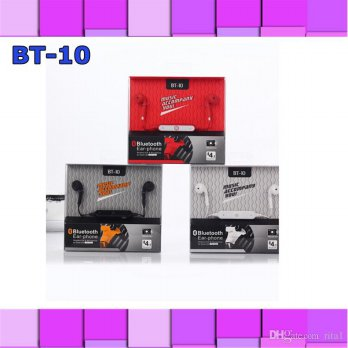 Handsfree Bluetooth Earphone BT10 Headset BT 10 ORI Samsung Android