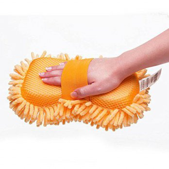 [macyskorea] BAITER Microfiber Chenille Car Washing Gloves, Auto Car Wash Sponge Cleaning /16092748