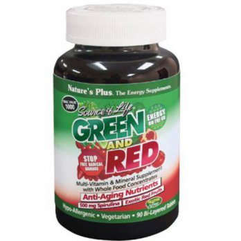 [macyskorea] Source Of Life Green And Red Natures Plus 90 Tabs/16125281