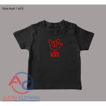 Kaos Anak Love Bird