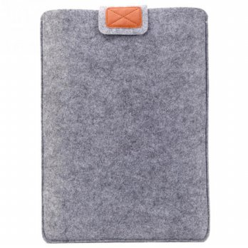 Soft Sleeve Case for Laptop 11 Inch - Gray