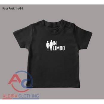 Kaos Anak In Limbo - Aldira Clothing
