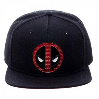 [macyskorea] Marvel Deadpool- Chrome Brick Logo Snapback Hat Size ONE SIZE/13752458
