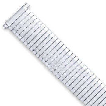 [macyskorea] DeBeer Mens Expansion Stretch Watch Band - Silver (fits 16mm to 20mm)/15782027