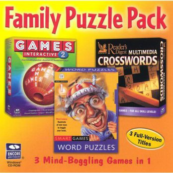 [macyskorea] Encore Family Puzzle Pack Gold Collection (Jewel Case) (6-Pack) - PC/15894035
