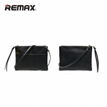 Remax Clutch Bag Fashion - Single 218 - Black