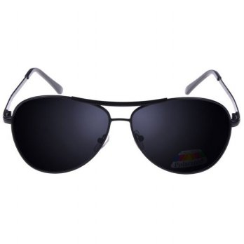 Kacamata Hitam Polarized - Black/Gray