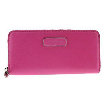 [macyskorea] Marc by Marc Jacobs Ligero Slim Zip Around Small Good Wallet, Fuchsia Purple,/14896820