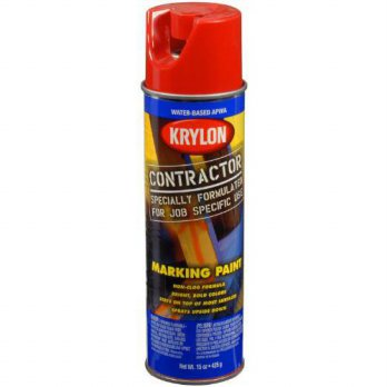 [macyskorea] Krylon K07313000 Water-Based Contractor Marking Paint, 7313 APWA Brilliant Re/14511661