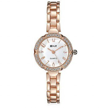 [macyskorea] Janyet Womens Steel Diamond Tide Watch/15819303