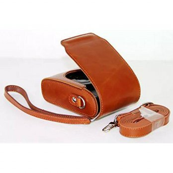 [macyskorea] Unknown Leather Camera Case Pouch Bag with Shoulder Strap for Panasonic Lumix/15855378