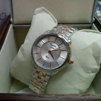 Alexander Christie Ac2579 Silver Combi Rosegold