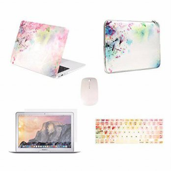 [macyskorea] TOP CASE - 5 in 1 Bundle Deal Air 13-Inch Vibrant Summer Graphics Rubberized /16209025