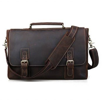 [macyskorea] Tiding Mens Crazy Horse Leather Tote Briefcases 14 inch Laptop Bags 80692/14125917