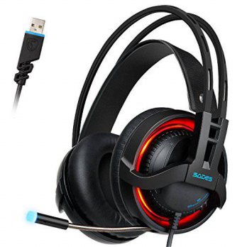 [macyskorea] Sades SADES R2 USB Wired Virtual 7.1 Channel Stereo Surround Sound Gaming Hea/16208790