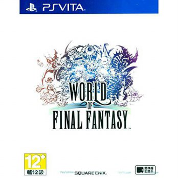[macyskorea] Square Enix World of Final Fantasy (Chinese Subs) for PlayStation Vita [PS Vi/15800307