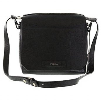 [macyskorea] Furla PATTY Pebbled Leather Shoulder Hand Bag in Onyx (001)/14126160