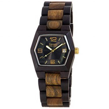 [macyskorea] Tense Wood Tense Mens or Womens Kootenay Watch in Dark and Green Sandalwood G/15863463