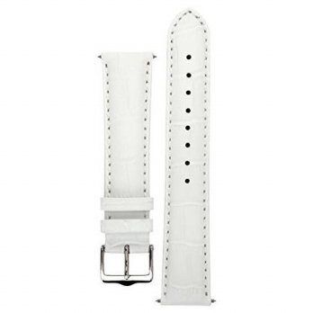[macyskorea] Signature Senator in white 21 mm watch band. Replacement watch strap. Genuine/15862665