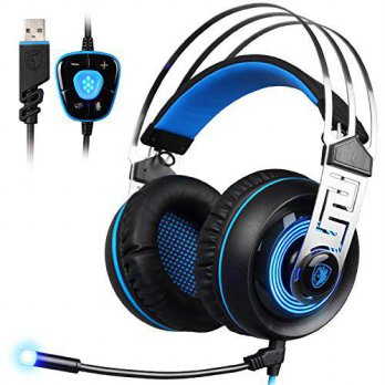 [macyskorea] Sades SADES A7 USB Gaming Headset 7.1 Surround Sound Professional Stereo Head/15801152