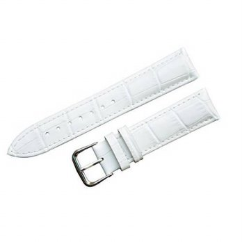 [macyskorea] ShoppeWatch White Genuine Leather Replacement Watch Band 22mm WB204WH/15865056