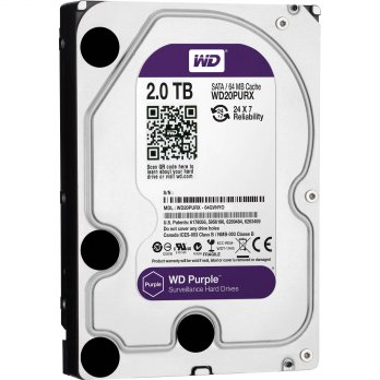 HDD - Hardisk internal WD CCTV/Purple 2TB 3.5