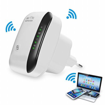 WiFi Repeater SKY-Link W03 Network 300Mbps Hotspot Penguat Sinyal