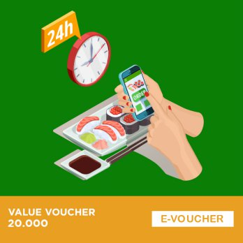 Grab Food - Voucher 20.000 Batch 2