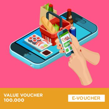 Grab Food - Voucher 100.000 Batch 2