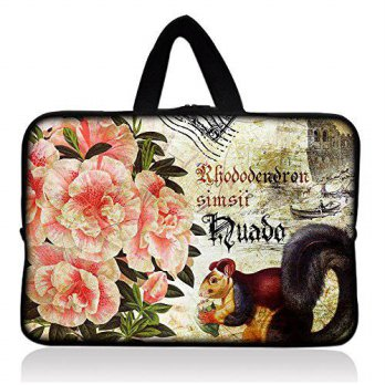 [macyskorea] SpecialBag Cute Squirrel & Peony 7 Tablet Neoprene Sleeve Pouch Case Bag w/ H/15840523