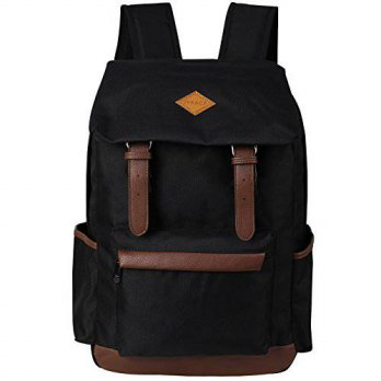 [macyskorea] Zeraca Fashion Travel Laptop Backpack Book bags For College Men Women Black/13776572